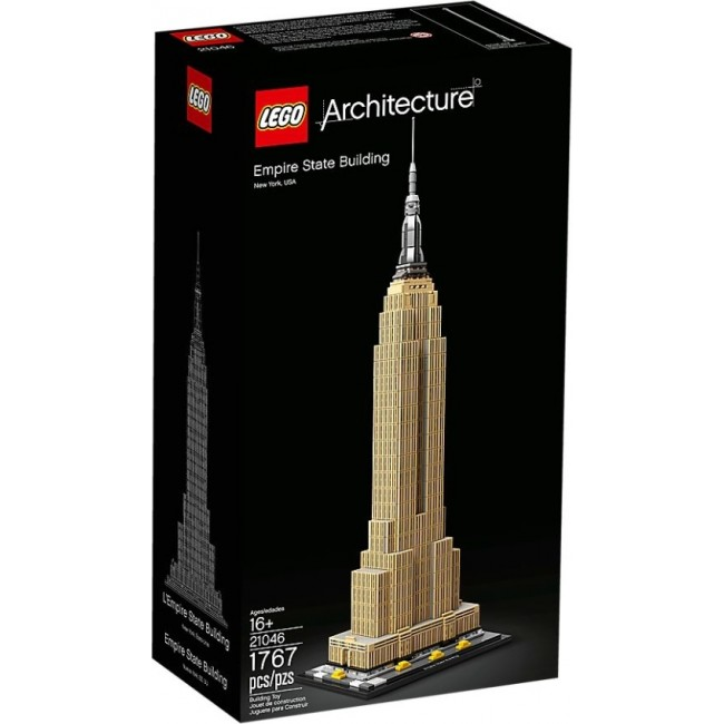 LEGO ARCHITECTURE 21046 EMPIRE STATE BIULDING
