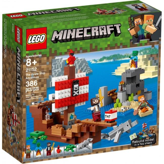 LEGO MINECRAFT 21152 THE PIRATE SHIP