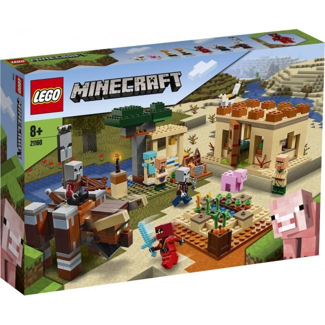LEGO MINECRAFT 21160 THE PILLAGER RAID