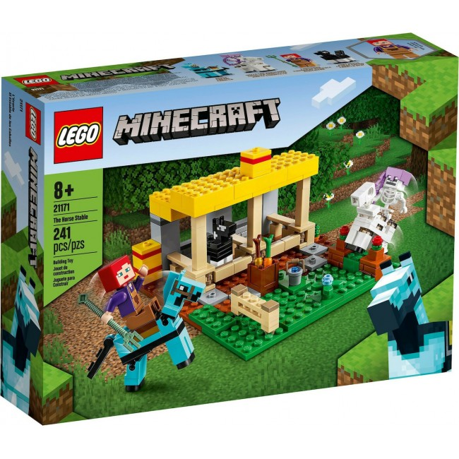LEGO MINECRAFT 21171 THE HORSE TABLE