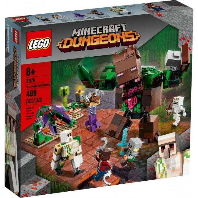 LEGO MINECRAFT 21176 THE JUNGLE ABOMINATION