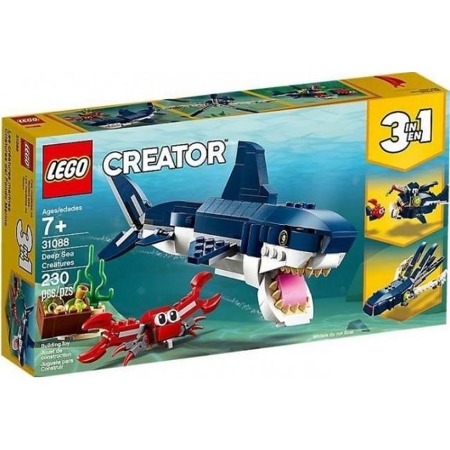 LEGO CREATOR 31088 DEAP SEA CREATURES