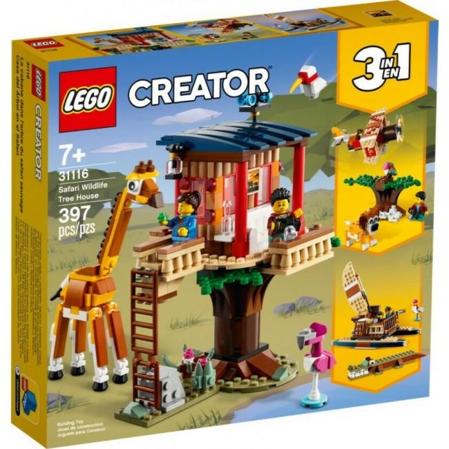 LEGO CREATOR 31116 SAFARI-TREE HOUSE
