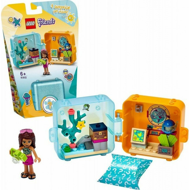 LEGO FRIENDS 41410 ANDREA'S SUMMER PLAY CUBE
