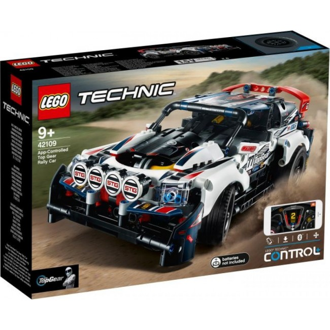 LEGO TECHNIC 42109 TOP GEAR RALLY CAR