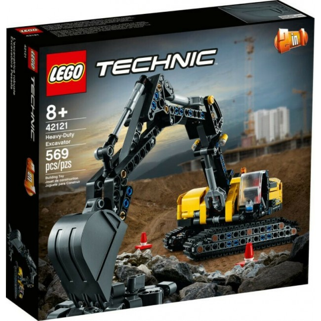 LEGO TECHNIC 42121 HYDRAULIC BAGGER