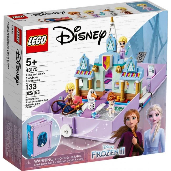 LEGO DISNEY PRINCESS 43175 ANNA & ELSA'S STORYBOOK ADVENTURES