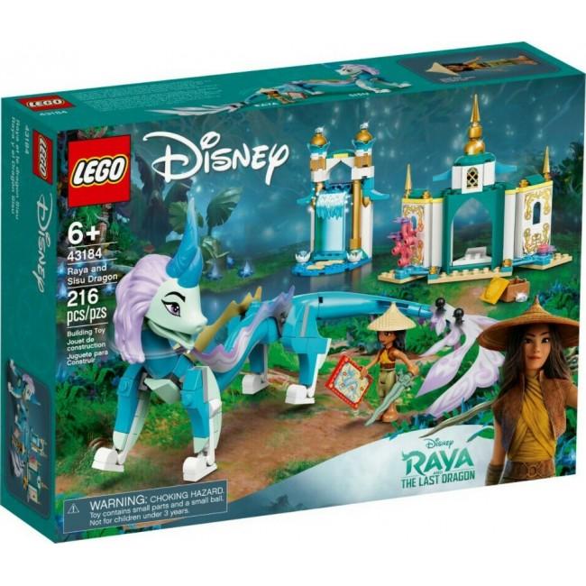 LEGO DISNEY PRINCESS 43184 RAYA AND SISU DRAGON