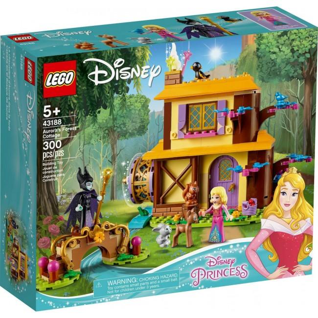 LEGO DISNEY PRINCESS 43188 AURORA'S FOREST COTTAGE