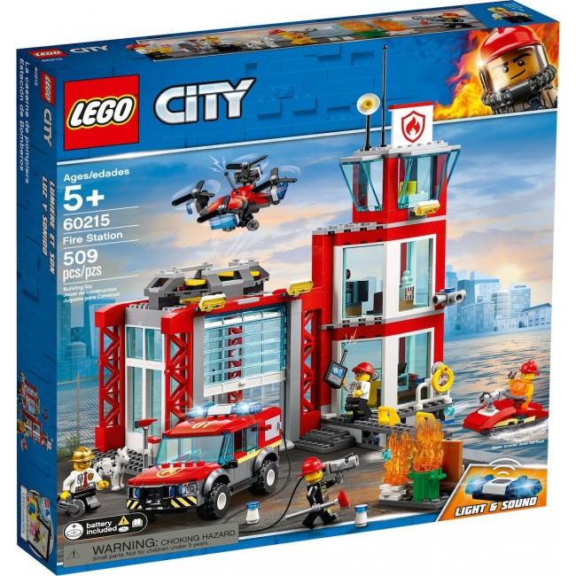 LEGO CITY 60215 FIRE STATION