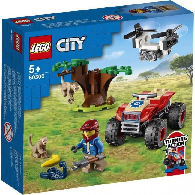 LEGO CITY 60300 WILDLIFE RESUE ATV