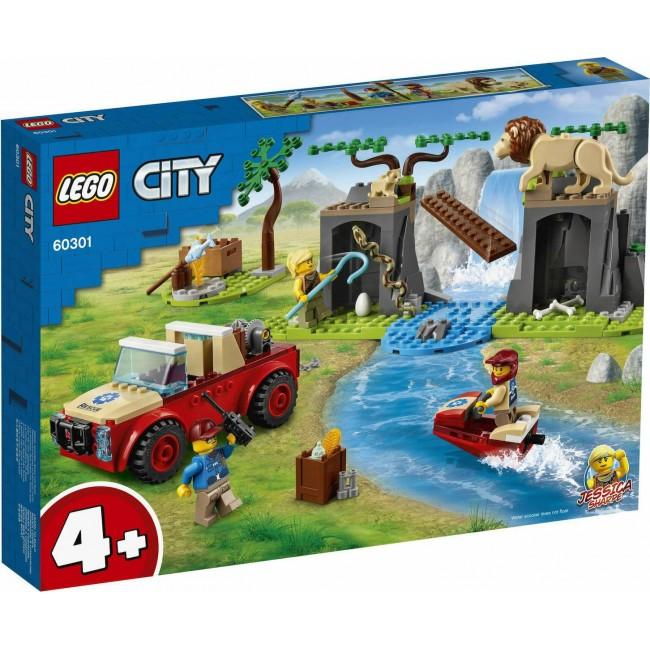 LEGO CITY 60301 WILDLIFE RESUE OFF-ROADER