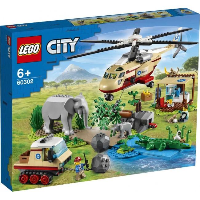 LEGO CITY 60302 WILDLIFE RESUE OPERATION