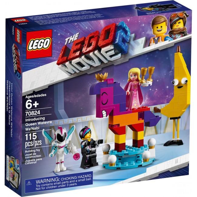 LEGO MOVIE 2 70824 INTRODUCING QUEEN MATEVRA WANABI