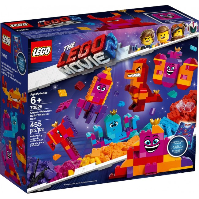 LEGO MOVIE 2 70825 QUEEN MATEVRA'S BUILD WHATEVER BOX