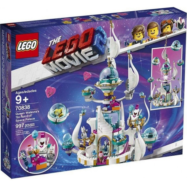 LEGO MOVIE 2 70838 QUEEN MATEVRA'S SO NOT EVIL SPACE PALACE