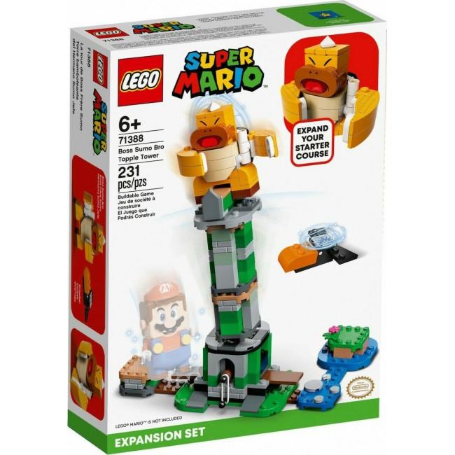 LEGO SUPER MARIO 71388 BOSS SUMO BRO TOPPLE TOWER EXPANSION SET