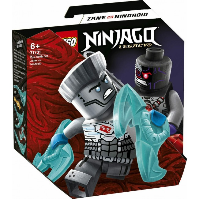 LEGO NINJAGO 71731 EPIC BATTLE SET ZANE VS NINDROID