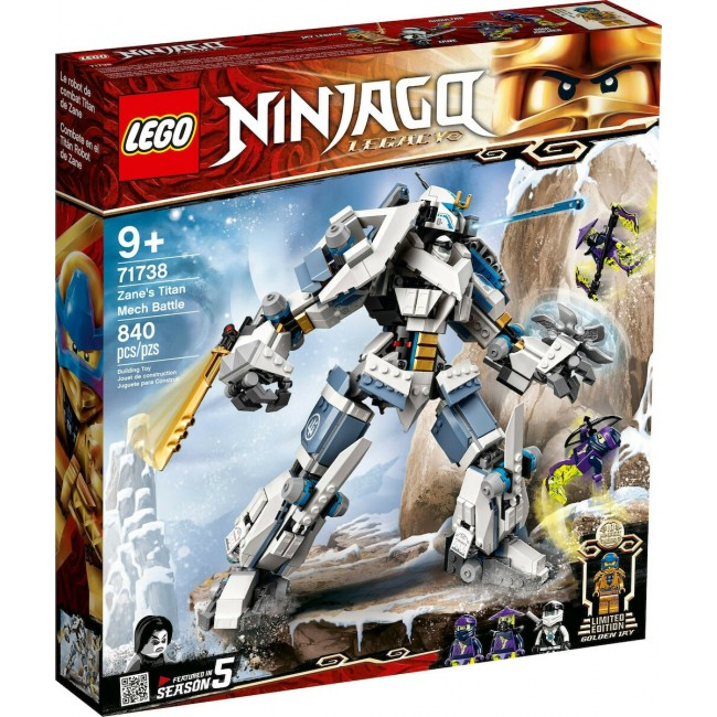 LEGO NINJAGO 71738 ZANES TITAN MECH BATTLE NINJA