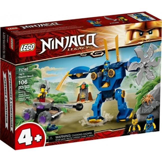 LEGO NINJAGO 71740 JAYS ELECTRO-MECH (+4)
