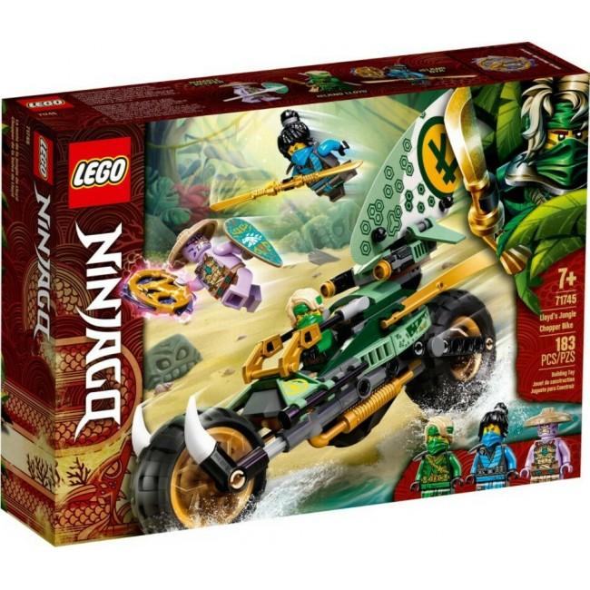 LEGO NINJAGO 71745 LLOYDS JUNGLE BIKE