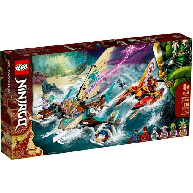 LEGO NINJAGO 71748 DUEL OF THE CATAMARANS