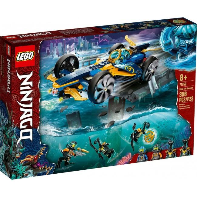 LEGO NINJAGO 71752 NINJA SUB SPEEDER