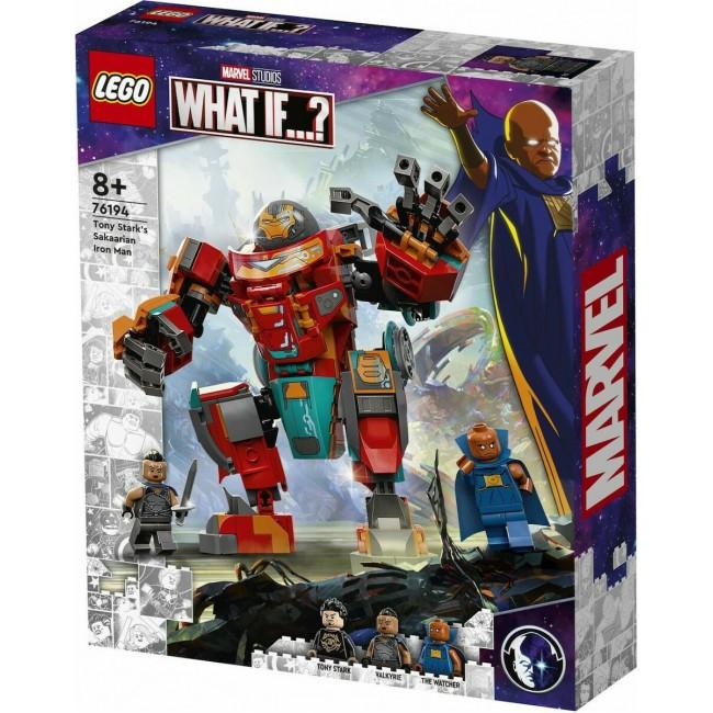 LEGO MARVEL 76194 TONY STARK'S SAKAARIAN IRON MAN