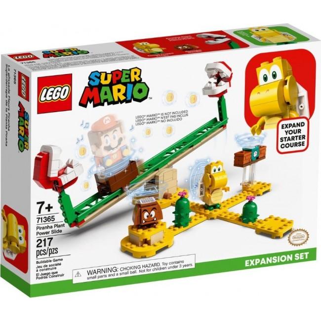 LEGO SUPER MARIO 71365 PIRANHA PLANT POWER SLIDE EXPANSION SET