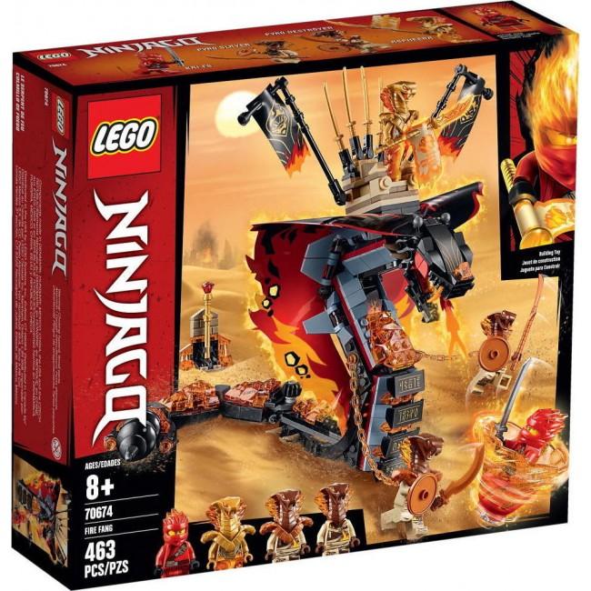 LEGO NINJAGO 70674 FIRE FANG SNAKE