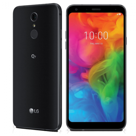 LG Q7 LMQ610 32GB SINGLE BLACK ...
