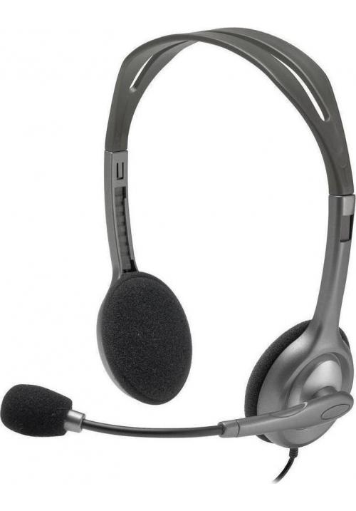 HEADSET LOGITECH H111 2.0 BLACK 981-000593