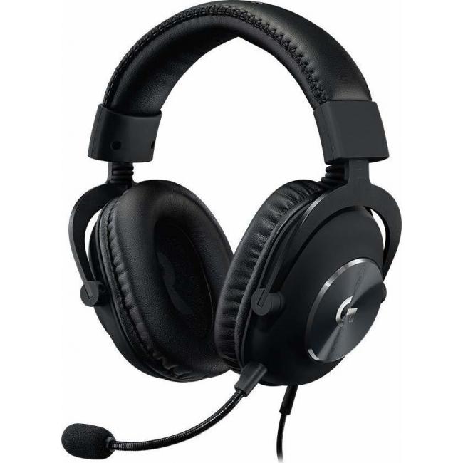 HEADSET LOGITECH G PRO X GAMING BLACK (981-000818)