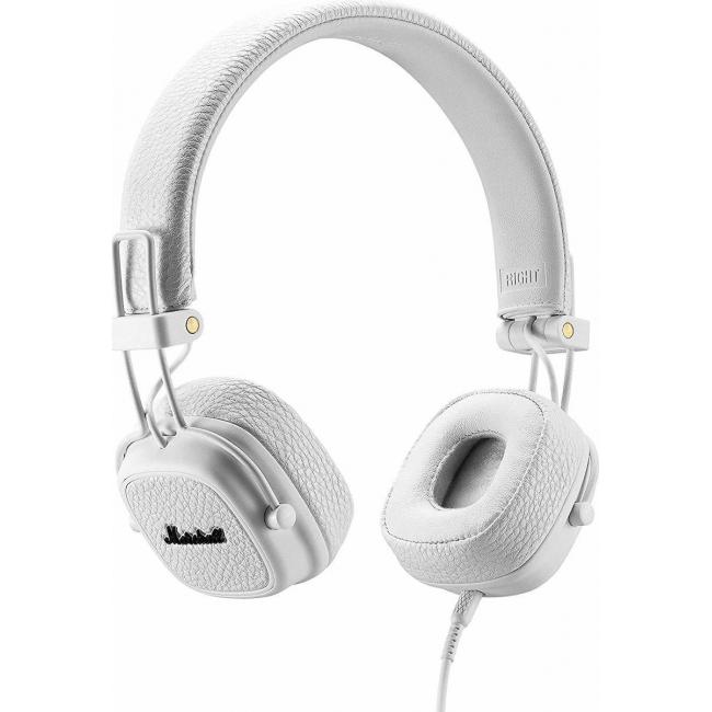 HEADPHONES MARSHALL MAJOR III WIRED WHITE 4092185