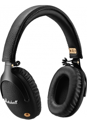 HEADPHONES MARSHALL MONITOR BLUETOOTH BLACK