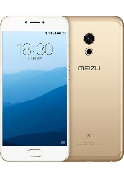 MEIZU PRO 6S M570Q-S 64GB DUAL GOLD (ΜΕ ΑΝΤΑΠΤΟΡΑ)