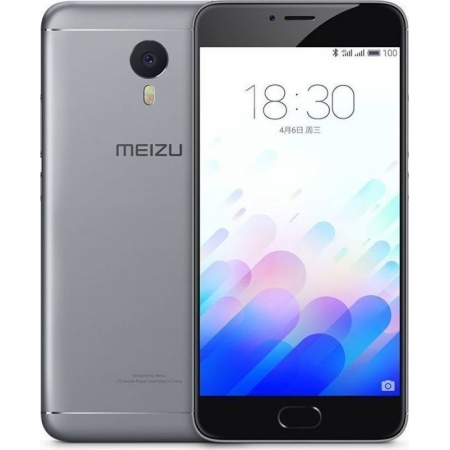 MEIZU M3 NOTE 16GB DUAL GREY (Μ...