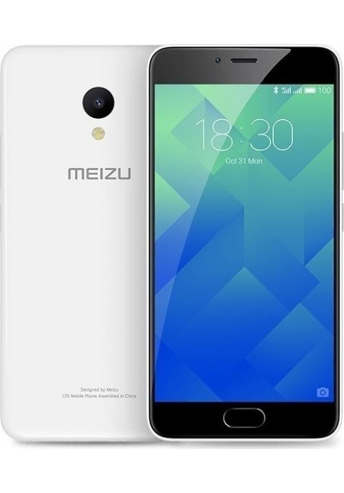 MEIZU M5 M611A 16GB DUAL GLACIER WHITE (ΜΕ ΑΝΤΑΠΤΟΡΑ)