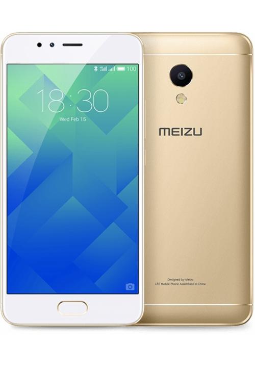MEIZU M5S M612M 16GB DUAL GOLD (ΜΕ ΑΝΤΑΠΤΟΡΑ)