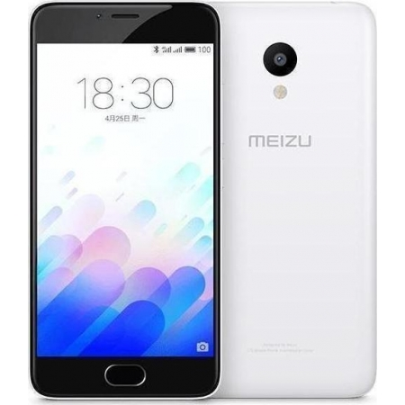 MEIZU M3 16GB DUAL WHITE (ΜΕ ΑΝ...