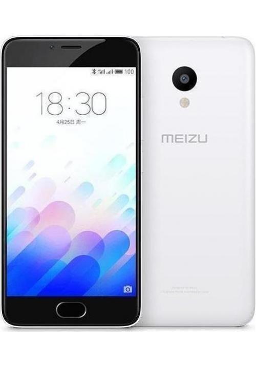 MEIZU M3 32GB DUAL WHITE (ΜΕ ΑΝΤΑΠΤΟΡΑ)