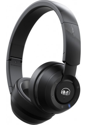 BLUETOOTH HEADPHONES MONSTER CLARITY 200 AROUND EAR BLACK 137101-00