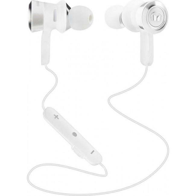 BLUETOOTH HANDSFREE MONSTER CLARITY IN EAR HD WHITE 137031-00