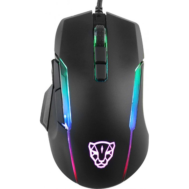MOUSE MOTOSPEED V90 WIRED GAMING BLACK