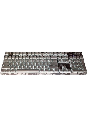 KEYBOARD MOTOSPEED K96 WIRED CAMO GREY SIDE LASER BLUE SWITCHES