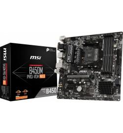 MOTHERBOARD MSI B450M PRO-VDH MAX AM4 AMD 7A38-043R