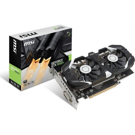 VGA MSI GEFORCE GTX1050TI 4GB O...