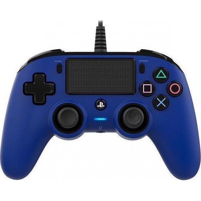 CONTROLLER NACON COMPACT PS4 WIRED BLUE