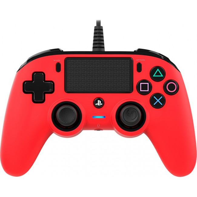 CONTROLLER NACON COMPACT PS4 WIRED RED