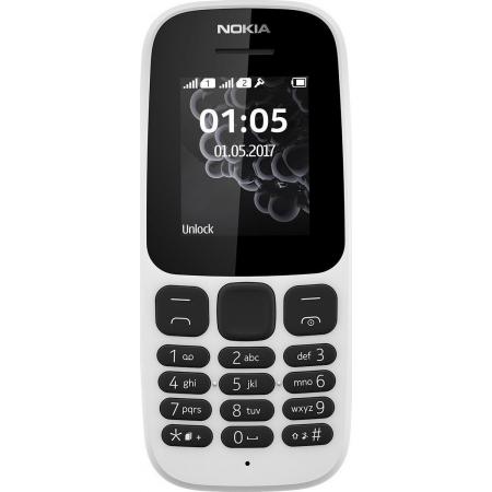 NOKIA 105 2017 DUAL WHITE GR